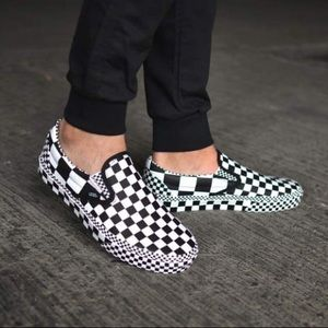 Vans Classic Slip-On All Over Checkerboard